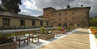 Spain - Alhambra - Parador de Granada - one of the Spanish Paradors Paradores