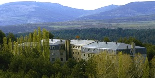 Spain - Castile - Avila - Parador de Gredos - one of the Spanish Paradors Paradores
