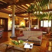interior of Parador de Gredos