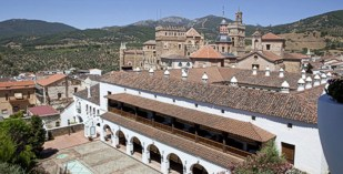Spain - Cacares - Parador de Guadalupe - one of the Spanish Paradors Paradores
