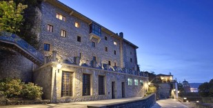 Spain - Irun - Basque Region - Parador de Hondarribia - one of the Spanish Paradors Paradores