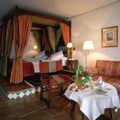bedroom in Parador de Jaen