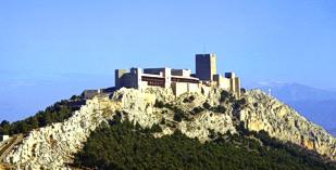 Spain - Andulusia - Parador de Jaen - one of the Spanish Paradors Paradores