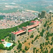 view over Jaen Parador