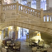Interior of Parador de Plasencia