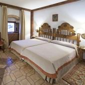 Parador Plasencia bedroom - Spain