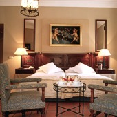 Bedroom in Parador of Lerma - Spain