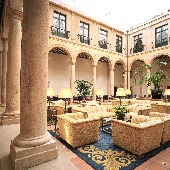 Cloister at Parador de Lerma - Spain