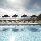 Parador de Malaga Gibralfaro swimming pool