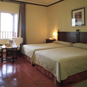 Bedroom at Parador de Manzanares