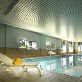 Parador Mazagon swimming pool