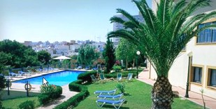 Spain - Melilla North Africa - Parador de Melilla - one of the Spanish Paradors Paradores