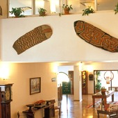 interior of Melilla Parador