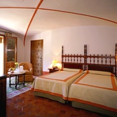 Bedroom at Parador of Merida