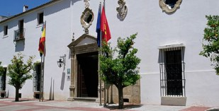 Spain - Badajoz - Parador de Merida - one of the Spanish Paradors Paradores