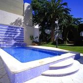 garden at Merida Parador - Spain
