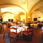 Restaurant at Parador de Merida