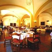 Restaurant at Parador de Merida
