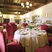 restaurant at Monforte de Lemos Parador