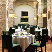 Restaurant at Olite Parador
