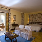 bedroom at Parador of Ribadeo - Galicia - Spain