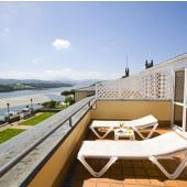 View from Hotel Parador de Ribadeo - Spain