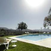 Swimming pool at Ronda Parador