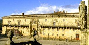 Spain - Galicia - Parador de Santiago de Compostela - one of the Spanish Paradors Paradores