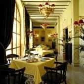 restaurant of Santillana Gil Blas Parador Hotel
