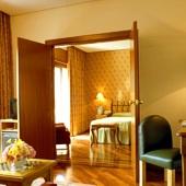 bedroom in Parador of Segovia