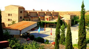 Spain - Castile - Parador de Segovia - one of the Spanish Paradors Paradores