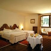 bedroom at Parador de Santillana - Spain