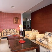 Soria Parador living room