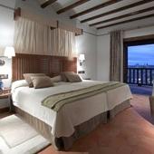 Bedroom at Parador de Toledo