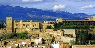 Spain - Catalonia - Tarragona - Parador de Tortosa - one of the Spanish Paradors Paradores
