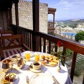View from Parador de Tortosa - Hotel accommodation