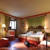 bedroom at Parador de Ubeda - Spain