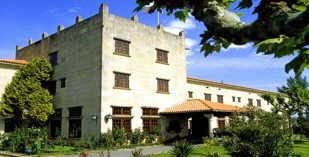 Spain - Galicia - Parador de Verin - one of the Spanish Paradors Paradores