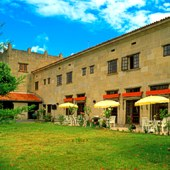 view of Parador hotel Verin