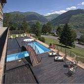 Parador de Vielha swimming pool - Pyrenees