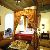 bedroom at Parador Hotel Vilalba in Galicia