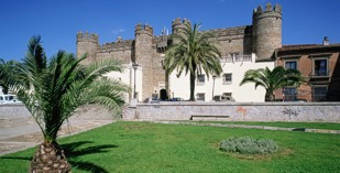 Spain - Badajoz - Parador de Zafra - external view