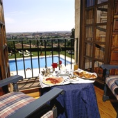 Parador in Zamora - view from bedroom